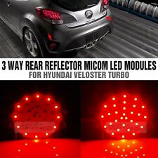3Way LED Rear Bumper Reflector LED Module for HYUNDAI 2011 - 2016 Veloster Turbo