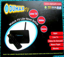 DUMAXTV QUAD CORE BEST NEW TOP IPTV BOX WITH WORLDWIDE CHANNELS - ANDROID 4.4.2