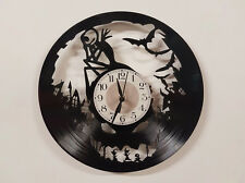 Nightmare Before Christmas (4) record clock home decor gift