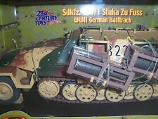 THE ULTIMATE SOLDIER XD  XTREME DETAIL  WWII GERMAN HALFTRACK  Sdkfz.251/1  1:18