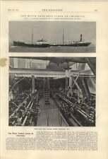 1921 Motor Tank Ship Conde De Churucca