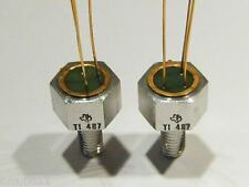 10x  TI487  NPN Tripple-Diffused Planar-Silicon Power Transistor  Tex. Instr.