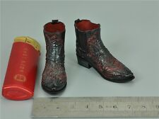 1/6 Scale Cowboy Boots for Dam GK011 Diamond 5-Ralap&The Wolf-Ghost