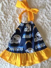 San Diego Chargers Football Baby Dress Size 12 Months
