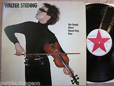 Walter Steding-Walter Steding VINILE LP → New York CBGB 's 1 track with Fripp