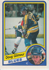 1984-85 OPC # 185 DOUG GILMOUR ROOKIE a