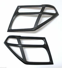 MATTE BLACK HEAD LIGHT COVER TRIM FOR NISSAN NAVARA FRONTIER D40 PATHFINDER R51