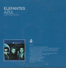 "ELEFANTES & ENRIQUE BUNBURY ""AZUL"" SPANISH PROMO CD SINGLE / HEROES DEL SILENCIO"