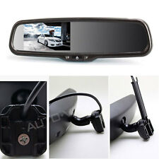 "GPS Car Rear View Reverse Mirror Monitor Cams Back up 4.3"" Monitor For Auto etc."