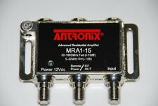 ANTRONIX MICRO AMP COAXIAL RG6 CABLE AMPLIFIER HDTV HD TV Signal Booster
