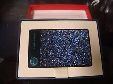 Starbucks 2015 Stainless Steel Swarovski Crystals Limited Edition Deep Blue