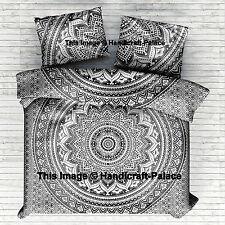 Queen Size Indian Mandala Doona Duvet Cover Quilt Bohemian Bedding Blanket Cover