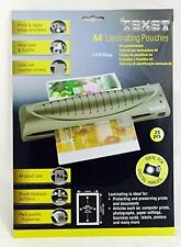 100 x A4 TIGER Laminator Laminating Pouches Sheets Sleeves Pockets