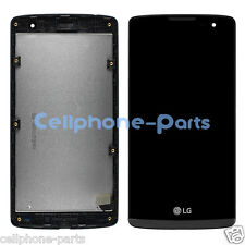 LG Leon H326T H340N H345 MS345 LCD Screen Display with Digitizer Frame Black USA