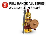 Lego minifigures spartan warrior series 2 (8684) unopened new factory sealed