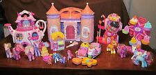 Huge lot My Little Pony Crystal Castle Ferris Wheel Teapot Palace Gumball House