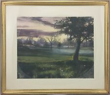 Remember Morning by Matthew Peak Original Lithograph, Framed