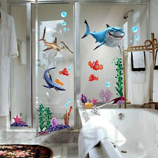 FINDING NEMO Wall Decals Sticker Decor Removable Vinyl Nursery Kids Room WS
