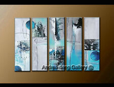 Large Modern Abstract Oil Painting Canvas Contemporary Wall Art Framed A1309