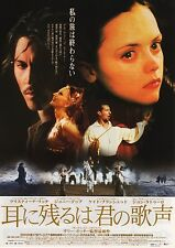 The Man Who Cried - Original Japanese Chirashi Mini Poster - Johnny Depp