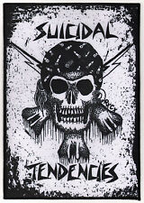 Suicidal Tendencies RxCx Skull Back Music Patch  - Rock Music Heavy Metal New