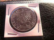 Österreich Austria -100 schilling 1979 - silver coin - 200 JAHRE INNVIERTEL !