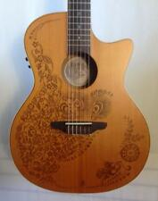Luna Henna Oasis Nylon Classical Acoustic Electric Guitar