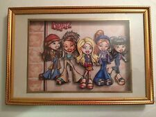 Brats Dolls 3 Dimensional Shadow Box Frame Picture  #161