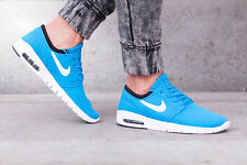 NIKE STEFAN JANOSKI MAX Trainers Gym Casual SB Air - UK 9 (EUR 44) - Photo Blue
