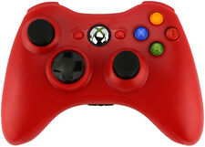 Xbox 360 Custom Wireless Controller (Red) (Refurbished)