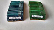 Lot of 450 x 1GB DDR3 Memory RAM SO-DIMM 1Rx8 PC3-8500S Hynix Samsung Micron