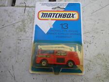 MATCHBOX 1981 MB 13 camion de pompier SNORKEL Neuf boite jamais ouverte scellée