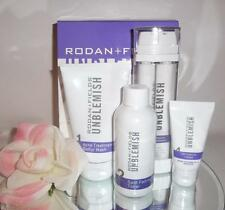 Rodan + and Fields Unblemish Regimen for Acne and Post Acne Marks 4pc Set Kit