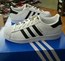 ADIDAS WOMENS SUPERSTAR C77153 WHITE/BLACK US WOMEN SIZE 8.5