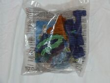 "McDonalds ""The Croods"" plastic toys (nos 1 & 6); still in original pack (BNIP)"