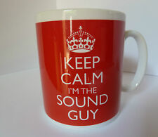 NEW KEEP CALM I'M THE SOUND GUY IN CARRY ON STYLE GIFT MUG RETRO BAND ENGINEER