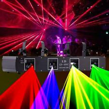 Quad  420mW DJ laser Light Disco Club Party Wedding Stage Pub DMX Laser Lighting