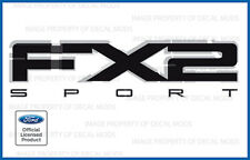 2009 2010 2011 Ford F150 FX2 Sport Decals FB Stickers Truck Bed Side graphics