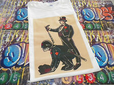 Bankster AC  AB NWO Anonymous T shirt  OCCUPY ANON 99% 4Chan anti police