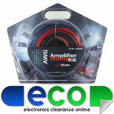 Ct35-10awg 400 WATT 10 AWG AUTO AMP AMPLIFICATORE 10 Gauge Kit Di Cablaggio Connects2