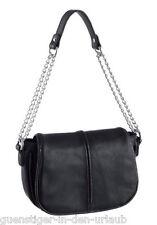 Laura Scott Damen Handtasche Tasche Umhängetasche Schultertasche schwarz NEU