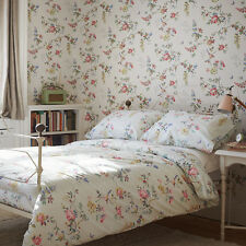 BNWT CATH KIDSTON Birds and Roses Duckegg DOUBLE Duvet Cover Gift Bag RRP £65 -3