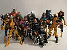 Marvel Legends XMEN Lot - Cyclops Wolverine Rogue Psylocke Gambit & MORE!!