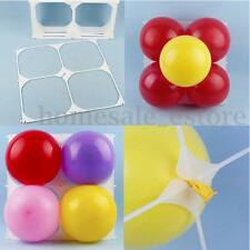 NEW 50 pcs Square 4 Grid Modeling Wedding Party Balloons Grids Wall Decoration