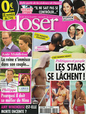 CLOSER N°321 hugh jackman harrison ford michael douglas winehouse hollande