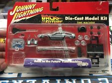Back to the Future Time Machine Die-Cast Model Kit Johnny Lightning Sealed 2001