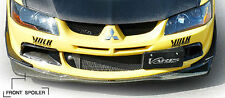 GENUINE VARIS FRONT SPOILER LIP CARBON FOR MITSUBISHI EVO 8/8MR CT9A 4G63