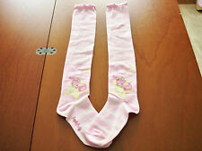 Angelic Pretty Sweet Lolita Pink Dream Fantasy Bunny OTKs Thigh High Socks Used
