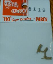Cal-Scale HO #6119 Check Valve (2 in package) Brass Casting Nonworking Model