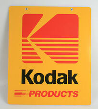 KODAK PORCELAIN DOUBLE SIDED ADVERTISING SIGN , VINTAGE, RARE,NEAR MINT 20 X 24